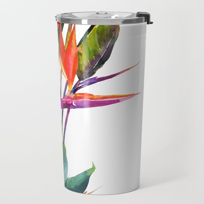 The bird of paradise Travel Mug