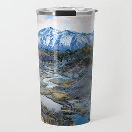 Eastern Sierra Nevada Journey, Hot Creek Travel Mug