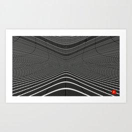Qpop - Continuum 1 Art Print