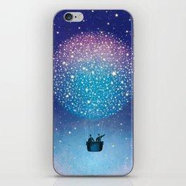 Stars Balloon iPhone Skin