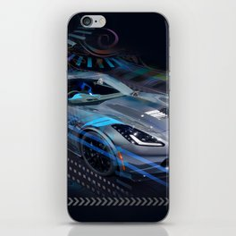 Vett Stingray in Motion iPhone Skin