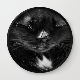 Ma chatte - my #cat Wall Clock