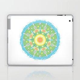 play outdoors mandala Laptop & iPad Skin