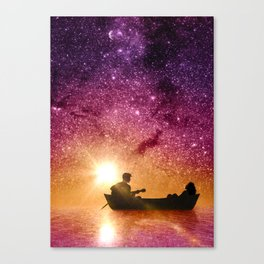 Serenade in the night Canvas Print