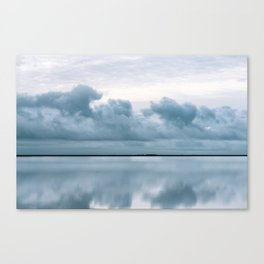 Epic Sky reflection in Iceland - Landscape Photography Canvas Print