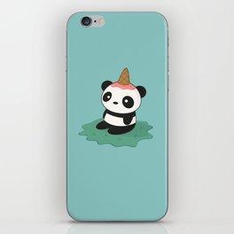 Kawaii Cute Panda Ice Cream iPhone Skin