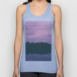 Rose island sunsets Unisex Tank Top