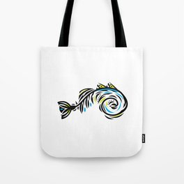Bone Fishish 4C Tote Bag