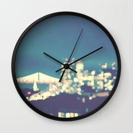 San Francisco Twinkle Wall Clock
