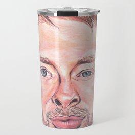 Thom Yorke Radiohead Hail to The Theif Travel Mug