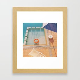 Swimming Pool Framed Art Print