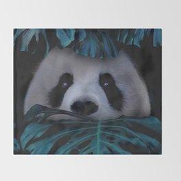 Panda Hidden Throw Blanket