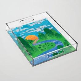 The Valley Acrylic Tray
