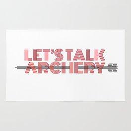LET'S TALK ARCHERY Rug