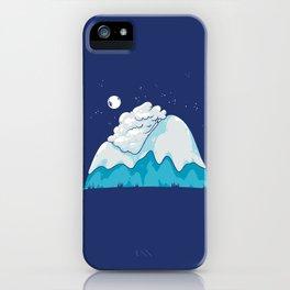 Cozy Mountain iPhone Case