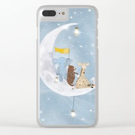 starlight wishes with you Clear iPhone Case