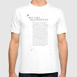 We The Delighters T-shirt