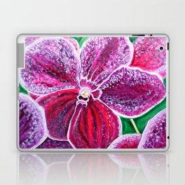 Purple Orchid Bloom Laptop & iPad Skin