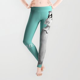 BREAKFAST AT TIFFANY'S WEIM Leggings