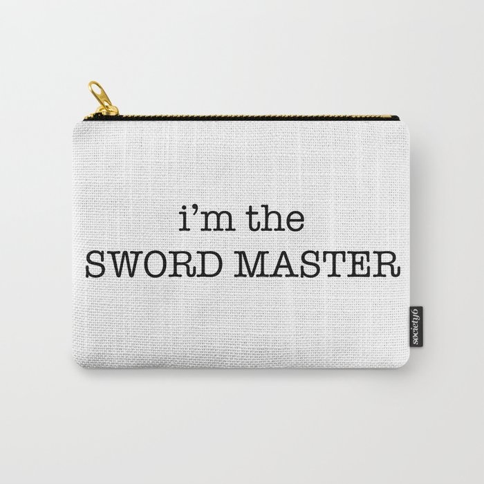 sword master Carry-All Pouch