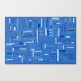 Bloo-bloo-bee-doo! Canvas Print