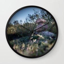 Rock Stacking Wall Clock