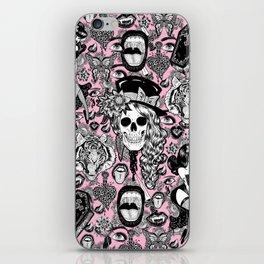 Pink Halloween iPhone Skin