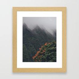 Beyond The Fog Framed Art Print