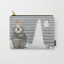 Time between rabbits, lies and truth Carry-All Pouch