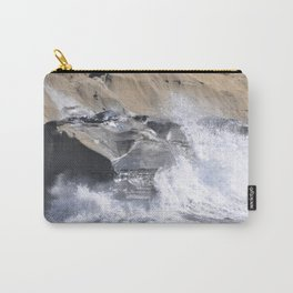 SPLASHING OCEAN WAVE Carry-All Pouch