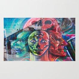 Aliens in the Graffiti Rug
