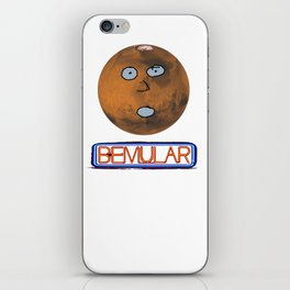 Mars logo iPhone Skin