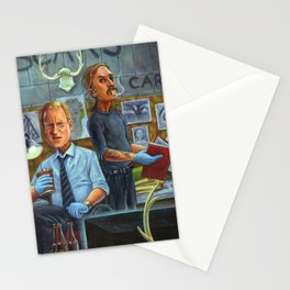 True Detective: Marty Hart and Rust Cohle Stationery Cards