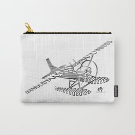 Flying Floating Lines Carry-All Pouch