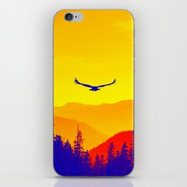 Flight or Fire iPhone Skin