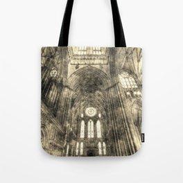 York Minster Vintage Tote Bag