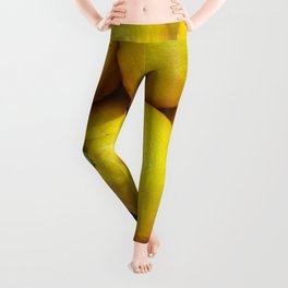 Yellow lemons Leggings