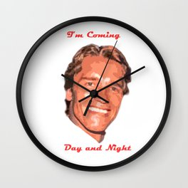 Coming Day and Night Wall Clock