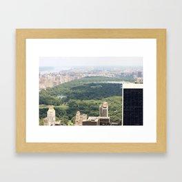 New York/Central Park Framed Art Print