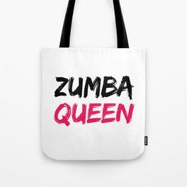 Zumba Queen Tote Bag