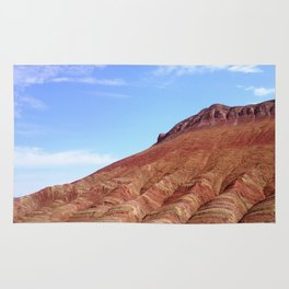 colorful mineral mountain photography 2 Rug