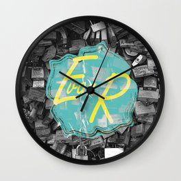 Evan Rivas Design Locks Wall Clock