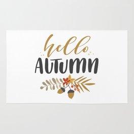 Hello Autumn! Rug