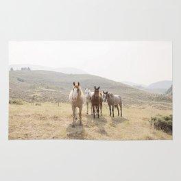 Mountain Horses Rug