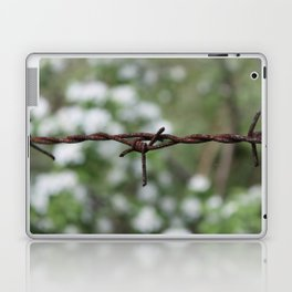 barbed wire Laptop & iPad Skin