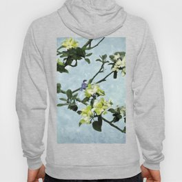 Chickadee in Apple Blossoms Hoody