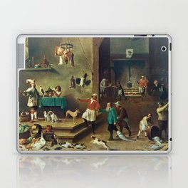The Kitchen by David Teniers the Younger Laptop & iPad Skin