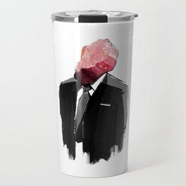 Char Siu Head (roast pork in suit) Travel Mug