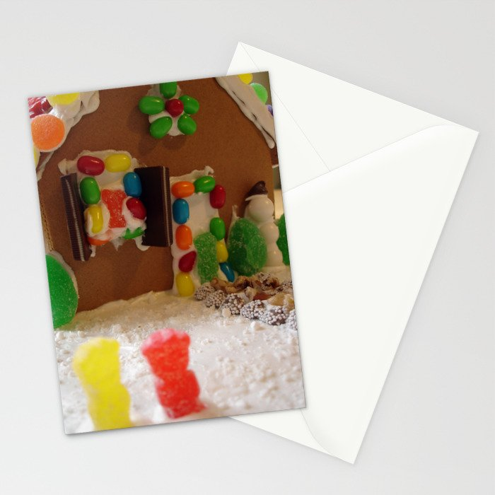 Gingerbread House Stationery Cards