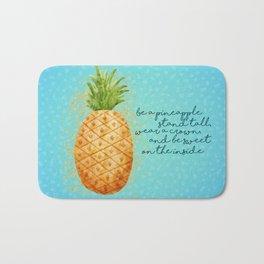 Be a Pineapple Bath Mat